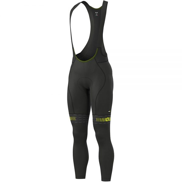 Alé Graphics PRR Green Road Bib Tights - XXXL - Black-Yellow, Black-Yellow