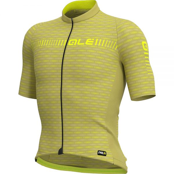 Alé Graphics PRR Green Road Jersey - M - Green-Yellow, Green-Yellow