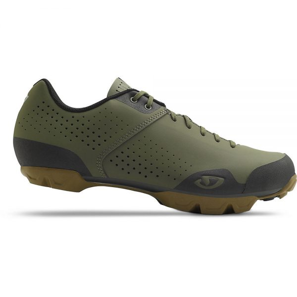 Giro Privateer Lace Off Road Shoes 2020 - EU 42 - Olive-Gum, Olive-Gum
