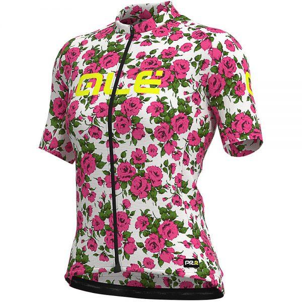 Alé Women's Graphics PRR Roses Jersey - XL - Fluro Pink, Fluro Pink