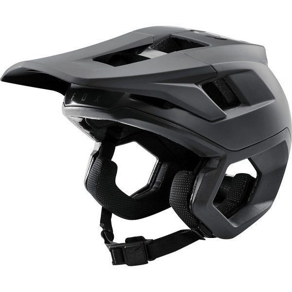 Fox Racing Dropframe Pro MTB Helmet - S - Black, Black