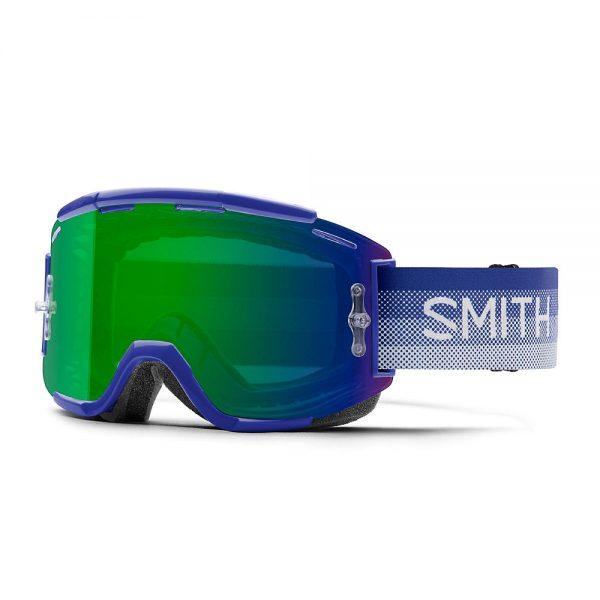 Smith Squad MTB Goggles Green Mirror Lens - Klein Fade, Klein Fade