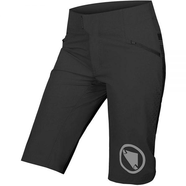 Endura Women's SingleTrack Lite Shorts - XL - Black, Black