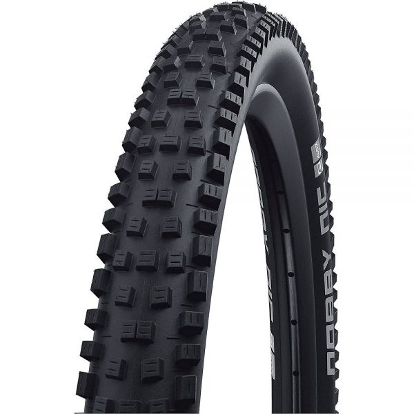 "Schwalbe Nobby Nic Performance MTB Tyre - Black - 26"", Black"