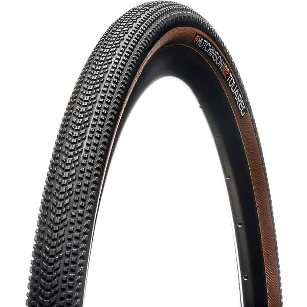 Hutchinson Touareg Gravel Tyre - Hardskin - Black - Tan Sidewall, Black - Tan Sidewall