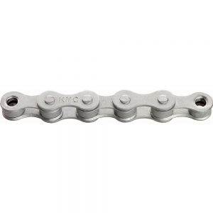 KMC S1 Rust Buster Single Speed Chain - Wide - Silver, Silver