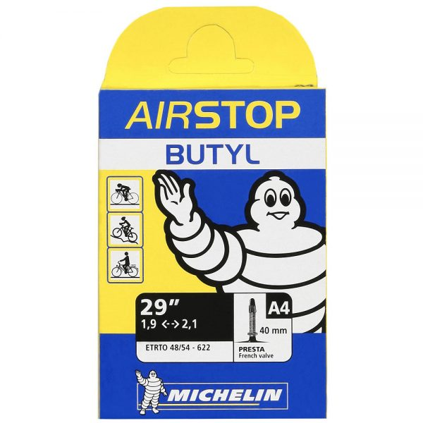 "Michelin A4 Airstop 29"" MTB Tube - 40mm"