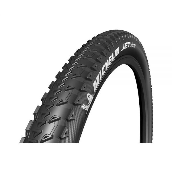 Michelin Jet XCR MTB Tyre - Folding Bead - Black, Black