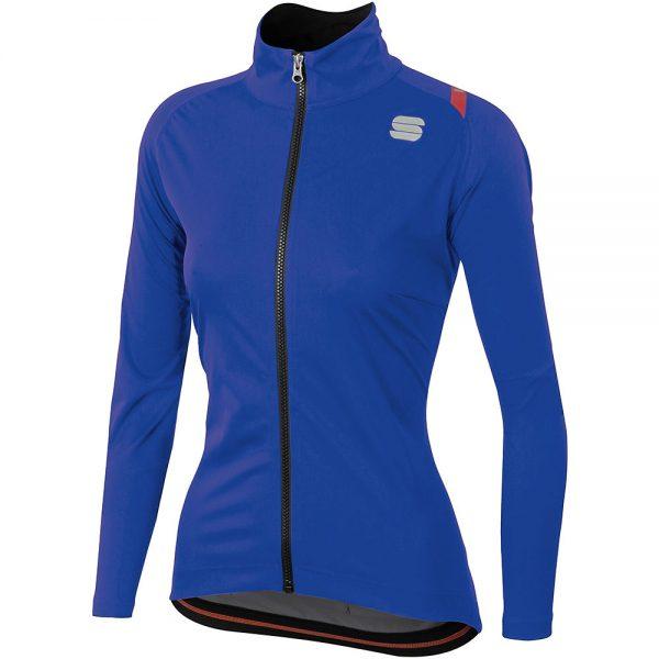 Sportful Women's Fiandre Ultimate 2 WS Jacket - XL - Blue, Blue