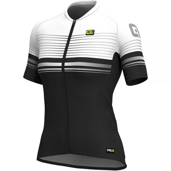 Alé Women's Graphics PRR MC Slide Jersey - L - Black-White, Black-White