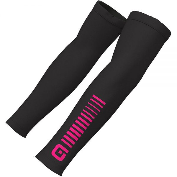 Alé Sunselect Arm Warmers - L - Black-Fluro Pink, Black-Fluro Pink