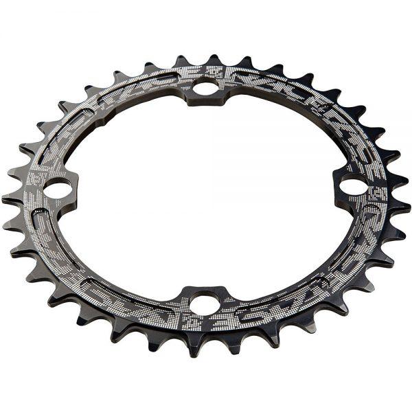 Race Face Narrow Wide MTB Single Chainring - 4-Bolt - Black, Black