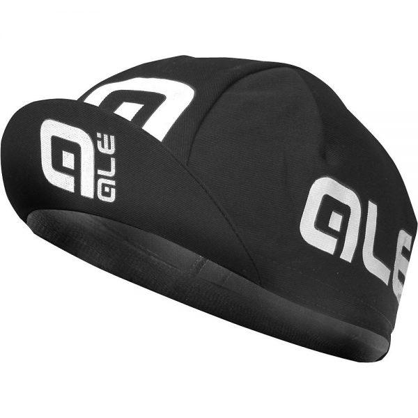 Alé Summer Cap - One Size - Black-White, Black-White
