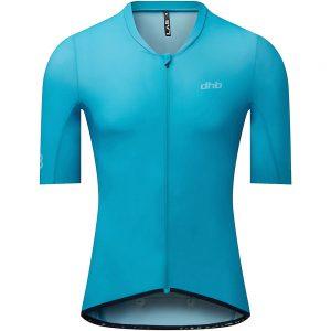 dhb Aeron Lab Short Sleeve UV Jersey - S - Blue, Blue