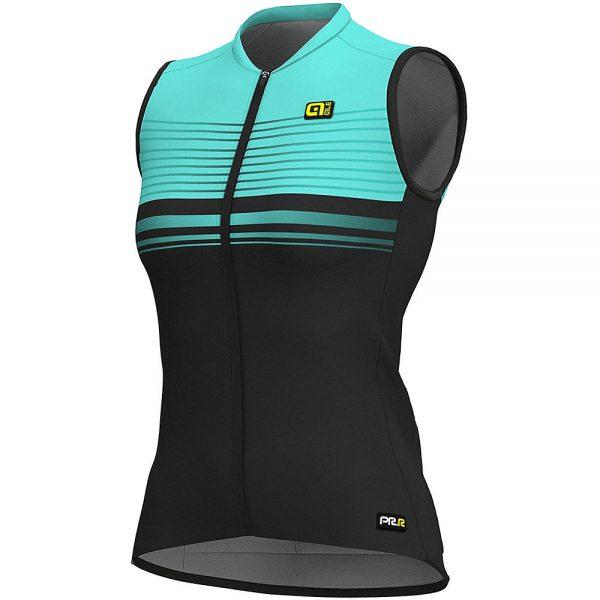 Alé Women's Graphics PRR SM Slide Jersey - XXXXXL - Black-Turquoise, Black-Turquoise