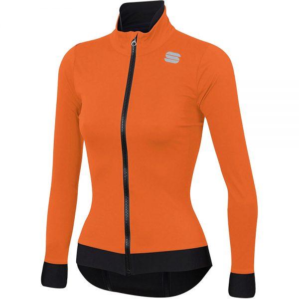 Sportful Women's Fiandre Medium Jacket - XXL - Orange SDR, Orange SDR