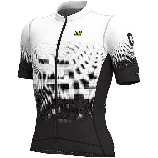 Alé PRS MC Dots Jersey - XL - Black-White, Black-White