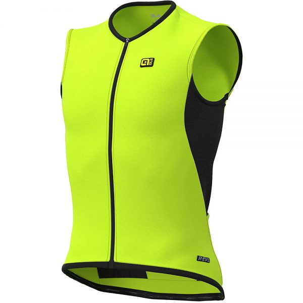 Alé Thermo Vest - M - Fluo Yellow, Fluo Yellow