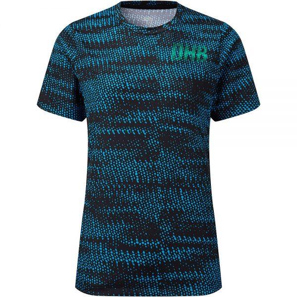 dhb MTB Women's SS Trail Jersey - Glitch - UK 10 - Blue, Blue