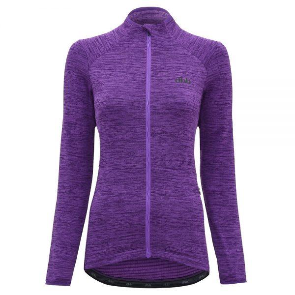 dhb MTB Women's Thermal Jersey - UK 16 - Purple, Purple