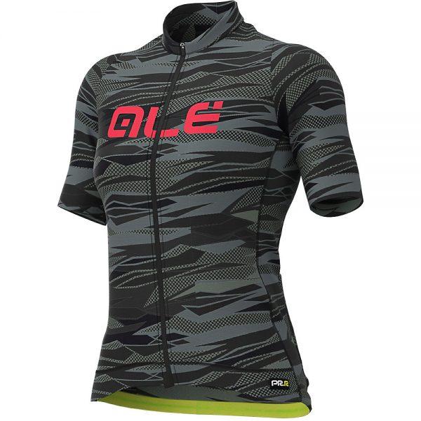 Alé Women's Graphics PRR Rock Jersey - L - Black-Gerbera, Black-Gerbera