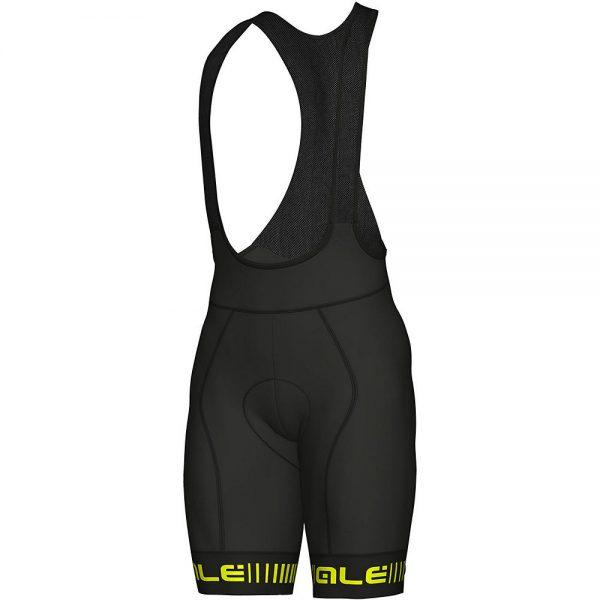 Alé Graphics PRR Strada Bib Shorts - XXXL - Black-Yellow, Black-Yellow