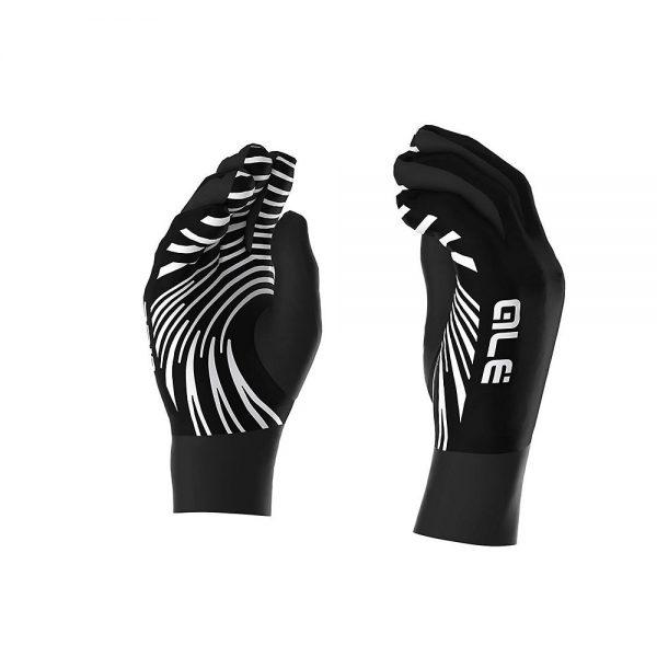 Alé Liner Gloves - XL - Black-White, Black-White