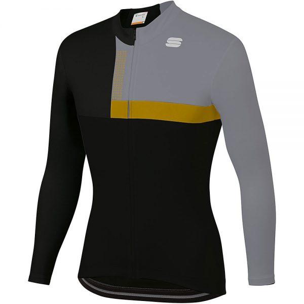 Sportful Bold Thermal Jersey - XXL - Black-Gold, Black-Gold