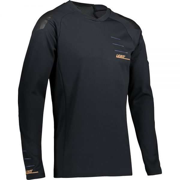 Leatt MTB 5.0 Jersey 2021 - XS - Black, Black