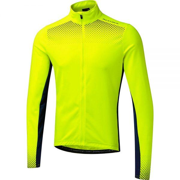 Altura Nightvision Long Sleeve Jersey - XL - Hi Viz Yellow-Navy, Hi Viz Yellow-Navy