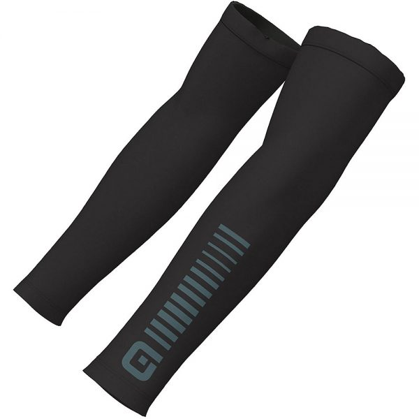 Alé Sunselect Arm Warmers - XL - Black-Grey, Black-Grey
