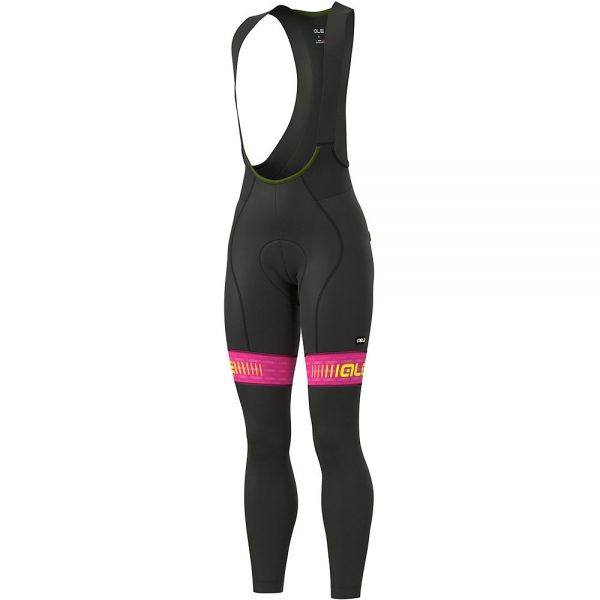 Alé Women's Graphics PRR Green Road Bibtight - L - Black-Multi, Black-Multi