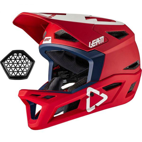 Leatt MTB 4.0 Helmet 2021 - M - Chilli, Chilli