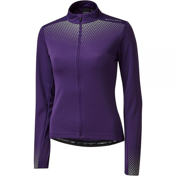 Altura Women's Nightvision Long Sleeve Jersey - UK 8 - Purple, Purple