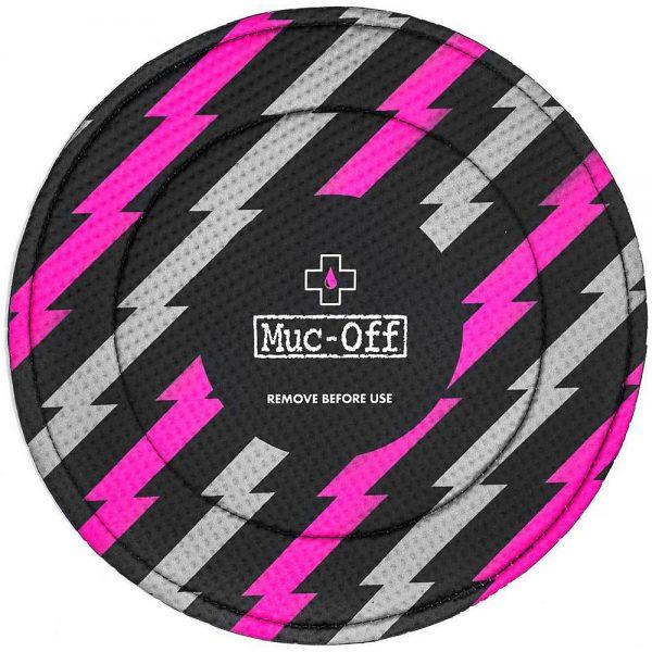 Muc-Off Disc Brake Covers - Pink - Black, Pink - Black