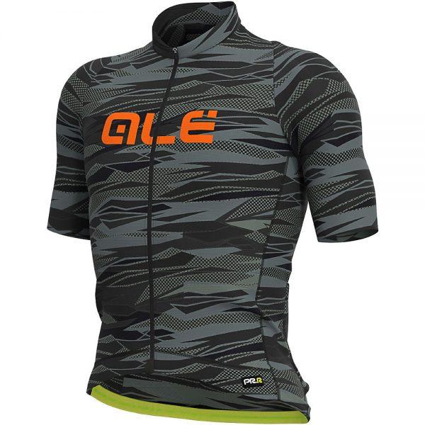 Alé Graphics PRR Rock Jersey - L - Black-Fluro Orange, Black-Fluro Orange