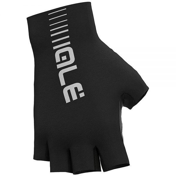 Alé Sunselect Crono Gloves - L - Black-White, Black-White