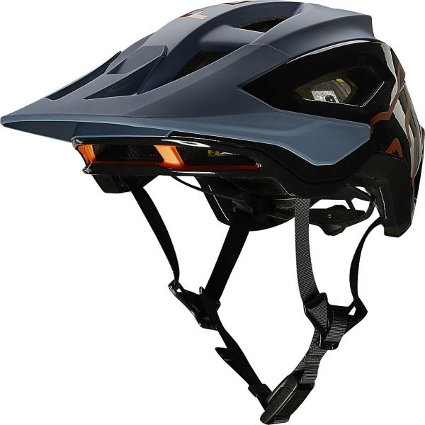 Fox Racing Speedframe Pro MTB Helmet (MIPS) - S - Blue Steel, Blue Steel