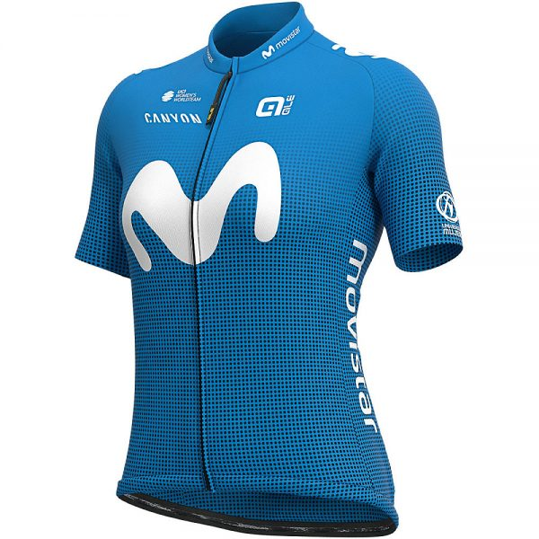 Alé Women's Movistar 2020 PRIME Jersey - XL - Light Blue, Light Blue