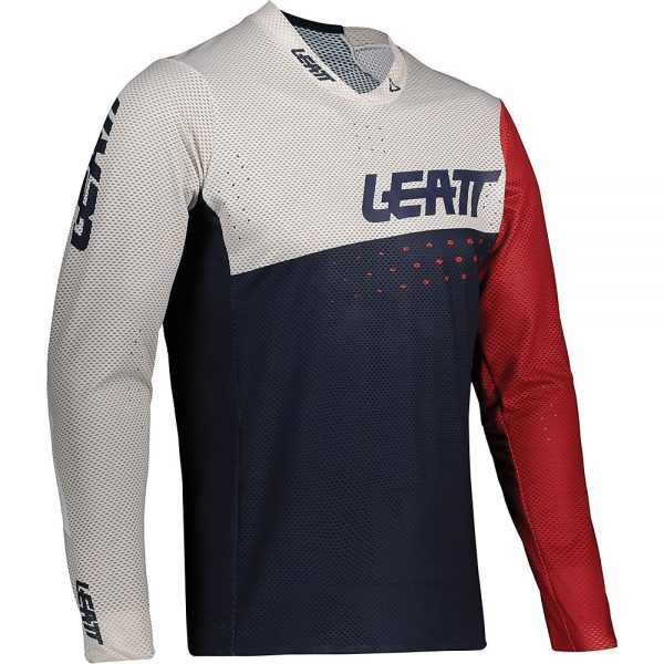 Leatt MTB 4.0 UltraWeld Jersey 2021 - M - Onyx, Onyx