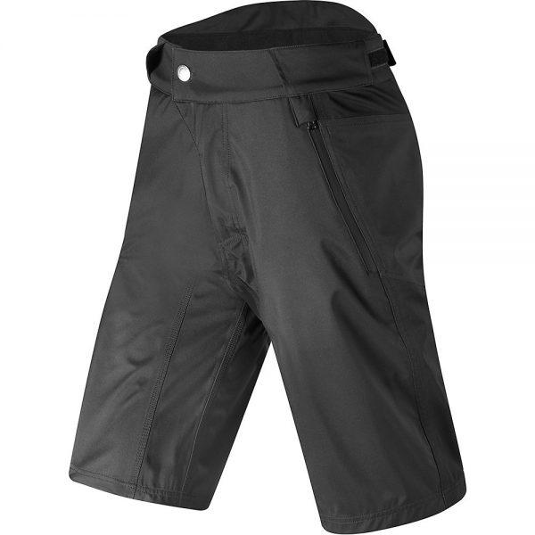 Altura All Roads Waterproof Shorts - M - Black-Black, Black-Black
