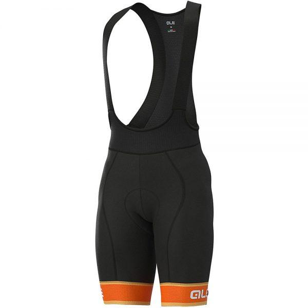 Alé Graphics PRR Sella Bib Shorts - XXL - Fluro Orange-White, Fluro Orange-White