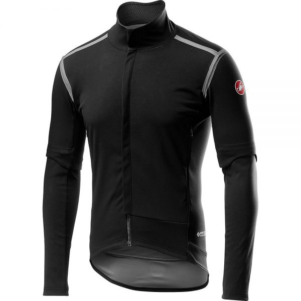 Castelli Perfetto ROS Convertible Jacket - XL - Light Black, Light Black