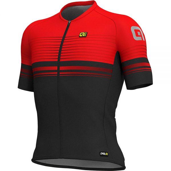 Alé Graphics PRR MC Slide Jersey - XS - BLACK-RED, BLACK-RED