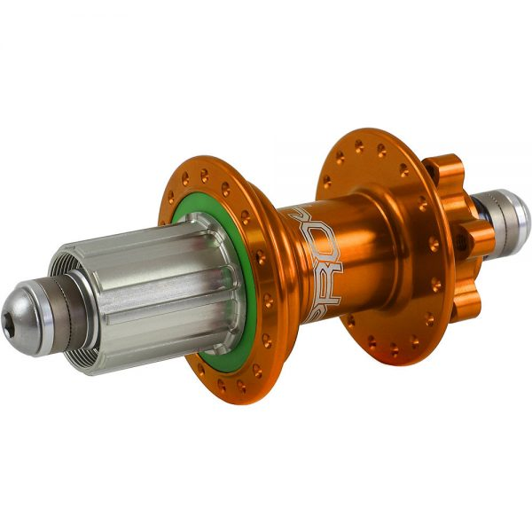 Hope Pro 4 MTB Rear Hub - 10mm Bolt Up Axle - 32h - Orange, Orange