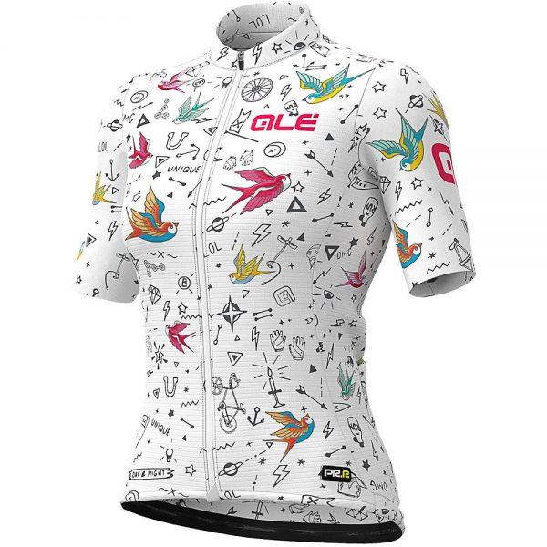 Alé Women's Graphics PRR Versilia Jersey - L - White, White