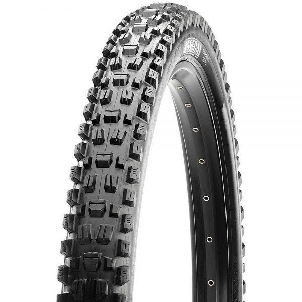 Maxxis Assegai MTB Tyre - 3CT - EXO+ - TR - Folding Bead - Black, Black