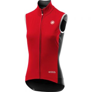 Castelli Women's Perfetto ROS Vest (Limited Ed) 2020 - L - Red, Red