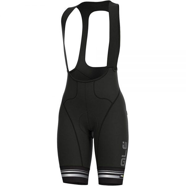 Alé Women's Graphics PRR Slide Bib Shorts - XXL - Black-White, Black-White