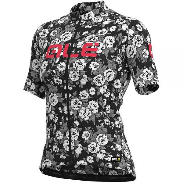 Alé Women's Graphics PRR Roses Jersey - XL - Black, Black